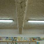 Die Räumlichkeiten wirkten Kühl und ungemütlich im alten Kindergarten