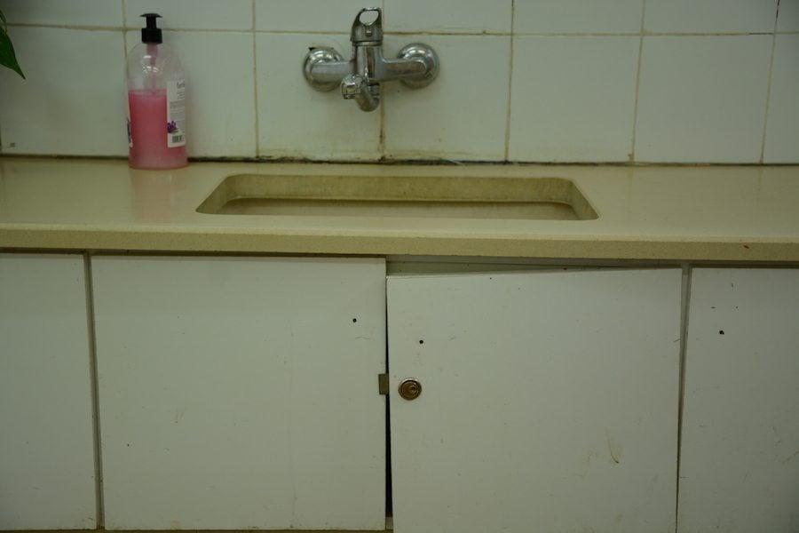 Sanitäranlagen im alten Kindergarten