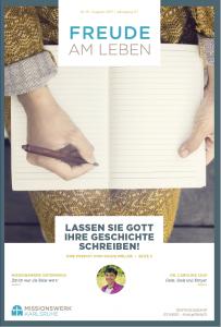 Lassen Sie Gott ihre Geschichte schreiben! - Magazin August 2017
