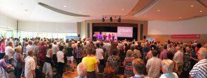 Missionswerk unterwegs Glauchau Gotttesdienstatmosphäre Hunger nach Gott