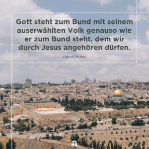 Missionswerk Karlsruhe Ermutigung der Woche Gott steht zu seinem Bund Stadt Jerusalem von oben