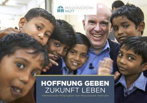 """Sozialbroschüre Missionswerk Karlsruhe """"Hoffnung geben – Zukunft leben"""""""