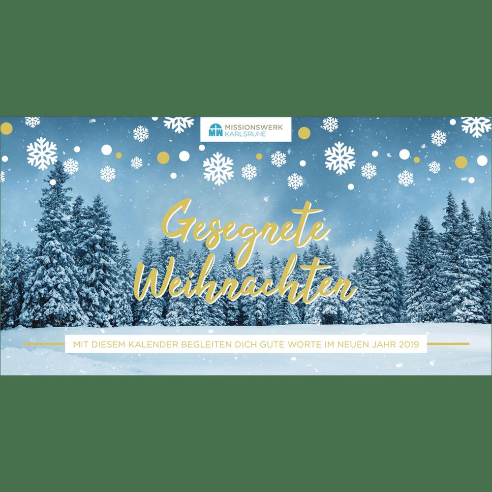 Kalender 2019 | Missionswerk Karlsruhe