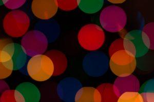 Missionswerk Karlsruhe Ermutigung der Woche Freude sei mit dir Bunte Kreise vor schwarzem Hintergrund