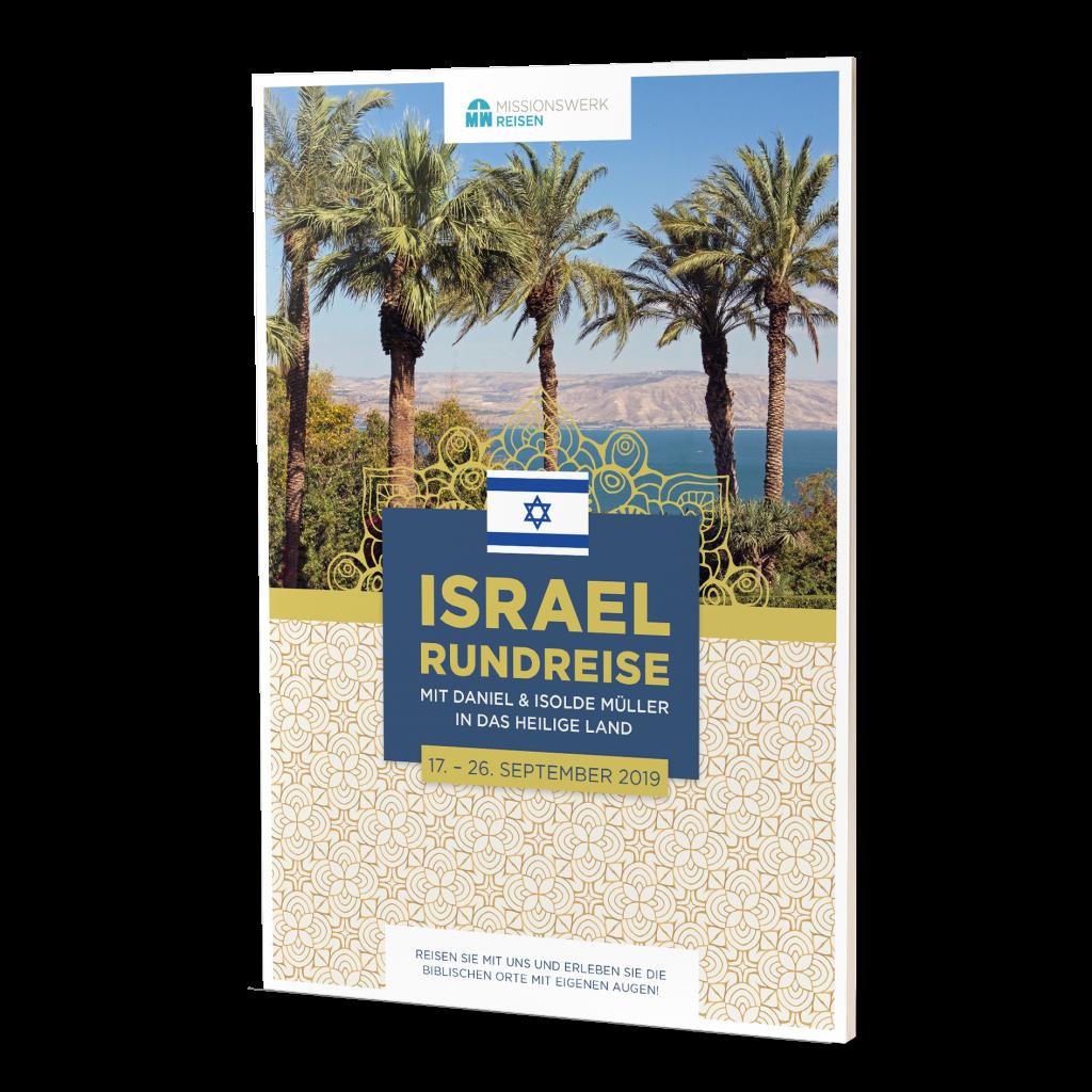 Reiseprospekt 2019 Israel-Rundreise Missionswerk Karlsruhe
