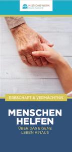 Testamentsbroschüre Missionswerk Karlsruhe