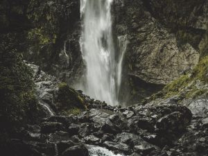 Wasserfall Missionswerk Karlsruhe Ermutigung der Woche Jesus, mein Fels