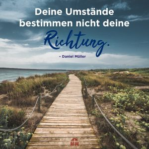 Holzsteg am Strand Missionswerk Karlsruhe Ermutigung der Woche Kennst du dein Ziel