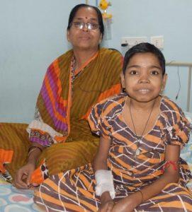 Rajashree Mukherjee profitiert vom Computertomographen im Mercy-Hospital, Kalkutta