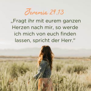 Frau im Kornfeld Gottes Nähe suchen Ermutigung der Woche Missionswerk Karlsruhe