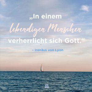Segelschiff auf dem Meer Gott verherrlicht sich in dir Ermutigung der Woche Missionswerk Karlsruhe