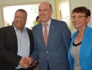 Bürgermeister Moshe Lion kam zur Eröffnung des 52. Kindergartenprojekts in Gilo, Jerusalem