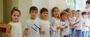 Strahlende Kinderaugen bei der Eröffnung des 52. Kindergartenprojekts in Gilo, Jerusalem
