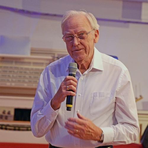 Collin Urquhart im Missionswerk Karlsruhe November 2019