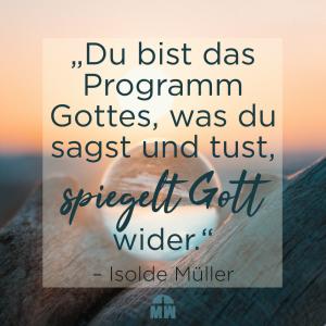 Sonnenaufgang in den Bergen Missionswerk Karlsruhe Ermutigung der Woche Gott wiederspiegeln