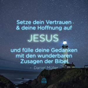 Leuchtturm in der Nacht Leuchte in der Dunkelheit Ermutigung der Woche Missionswerk Karlsruhe