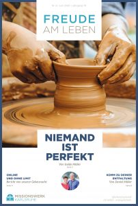 Titelseite Juni Magazin Niemand ist perfekt
