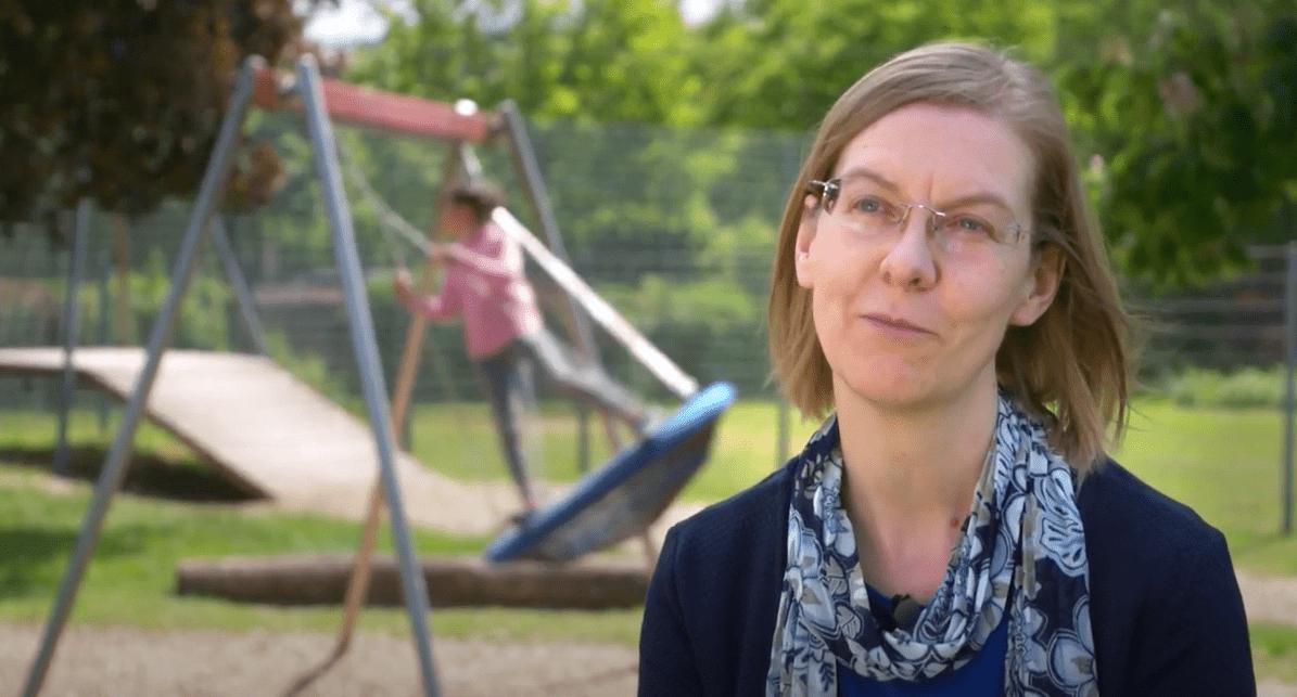 Integrationshelferin Annette hat Gott erlebt