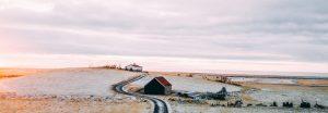 Winterlandschaft am Meer Gottes Friede sei mit dir Ermutigung der Woche Missionswerk Karlsruhe