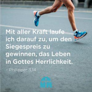 Läufer Hältst du es für möglich zu gewinnen Ermutigung der Woche Missionswerk Karlsruhe