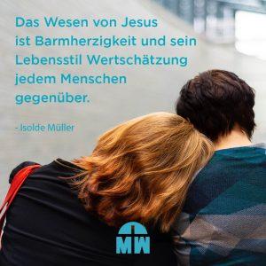 Frau lehnt sich an Schulter eines Mannes an Gesegnete Oster Ermutigung der Woche Missionswerk Karlsruhe