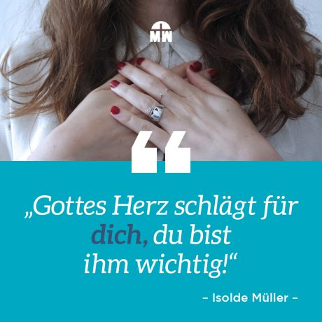 Betende Frau - Du bist Gottes Freund - Ermutigung der Woche Missionswerk Karlsruhe